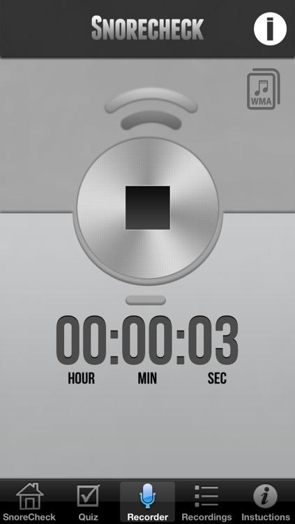 Snore Check screenshot-4