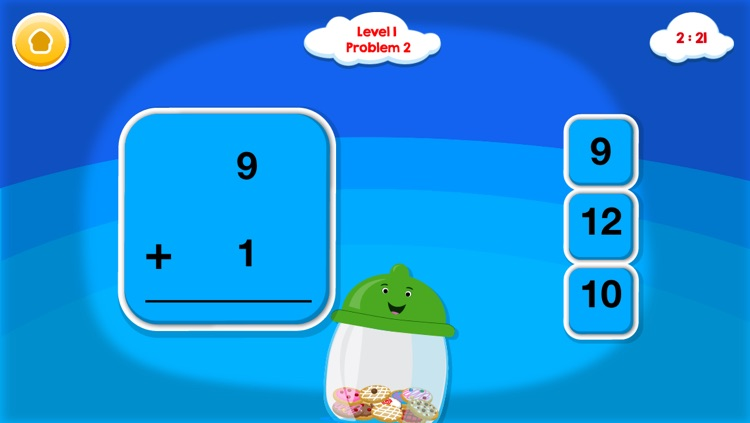 Smart Cookie Math Addition & Subtraction Game! screenshot-4