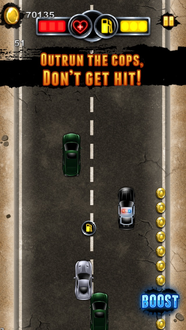 オートスマッシュストリートレース警察は自由に脱出紹介画像5