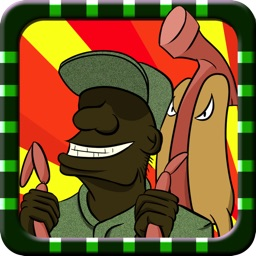 Gomer & Basher Army Thanksgiving Day Barbecue Mayhem - Great Dream Military Fun Run on US Government Shutdown - Free iPhone/iPad Edition Racing Game