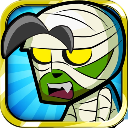 Mega Zombie Shooter: Monster Temple Dead Halloween Jump and Walking Killer Desert