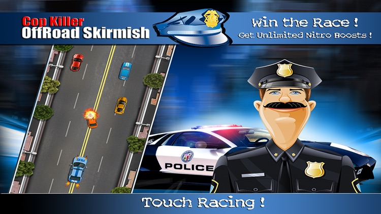 Deadly Cop OffRoad Skirmish FREE : Real Renegade Police outlaws