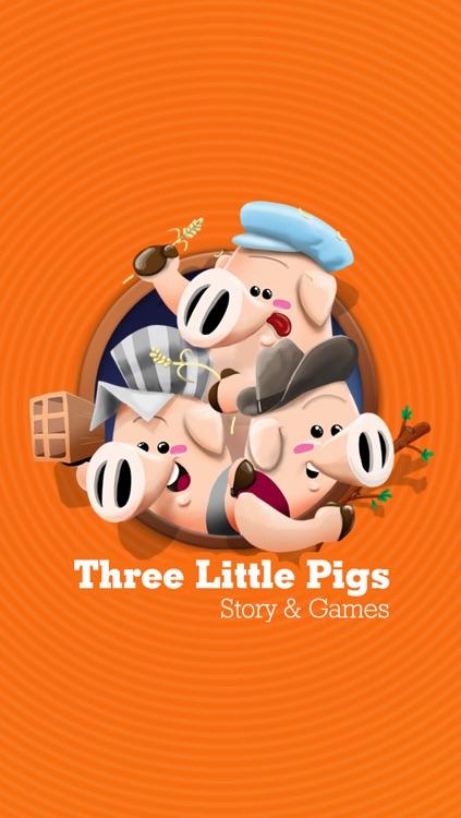 Three Little Pigs - Story & Games screenshot-4