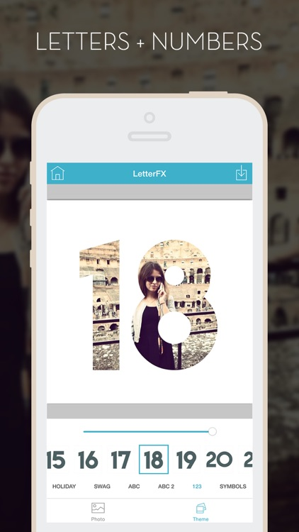 LetterFX - Word Frames for photos (Instagram edition) screenshot-3