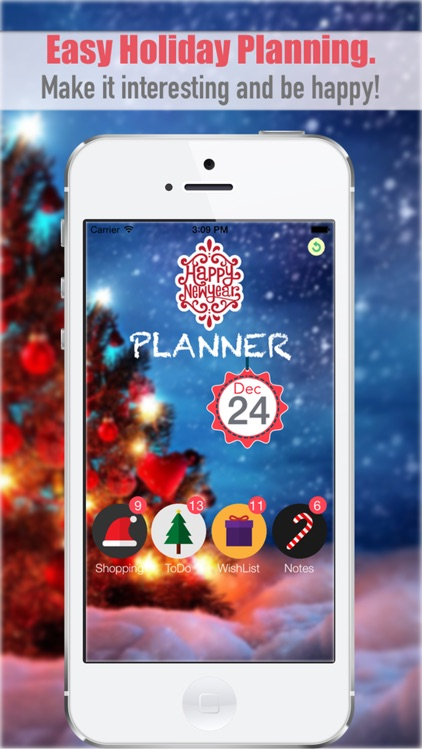 Happy New Year Planner