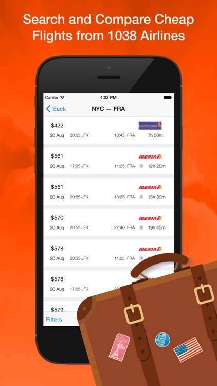 Search Flight Booking Cheap Airfare Tickets - Compare Prices Low Cost Airlines
