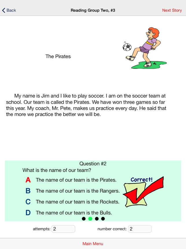 Second Grade Reading Comprehension-Free Version on the App Store