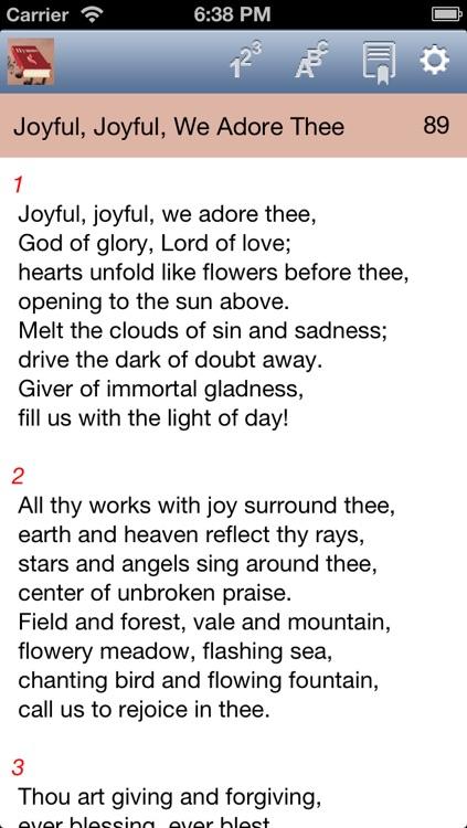 Hymnal Methodist.