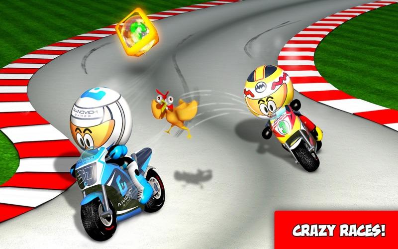 MiniBikers: The game of mini racing motorbikes screenshot 1