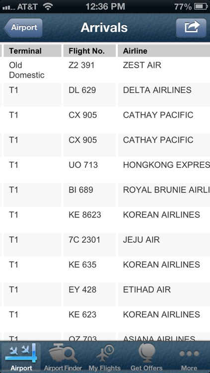 Manila Airport + Flight Tracker Premium screenshot-3