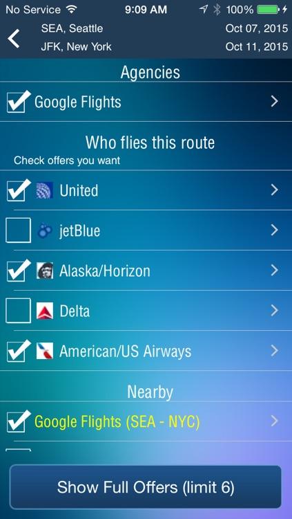 Seattle Airport Pro (SEA) Flight Tracker