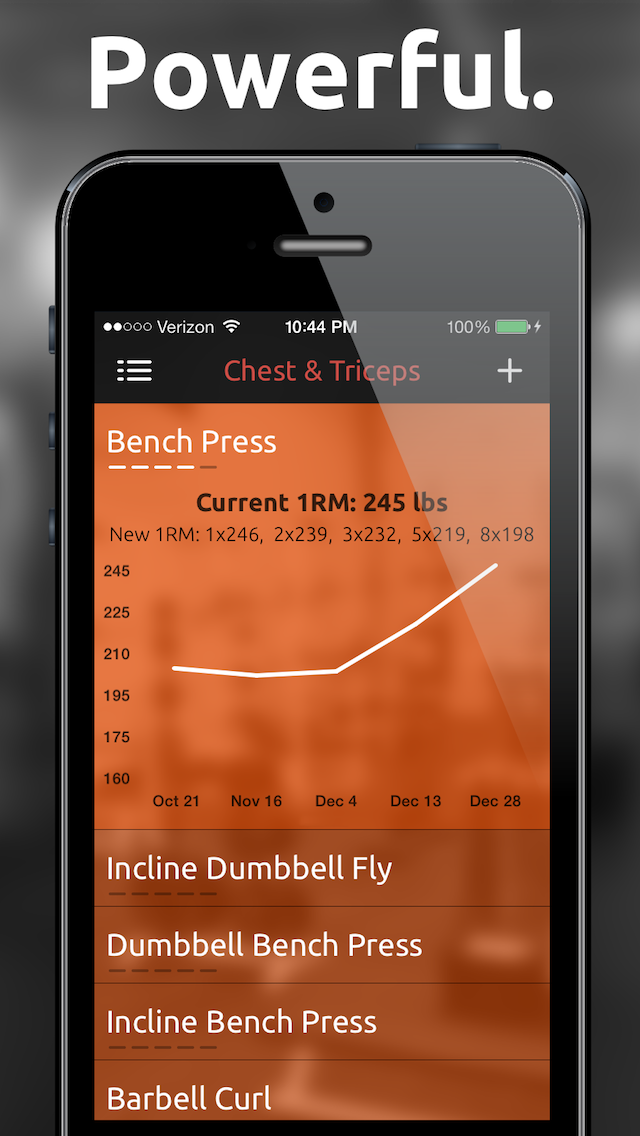 Fitted Lifts - Workout log and exercise tracker for bodybuilding and weight trainingのおすすめ画像2