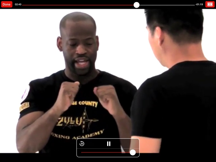 Martial Arts College: Video Lessons for iPad screenshot-2