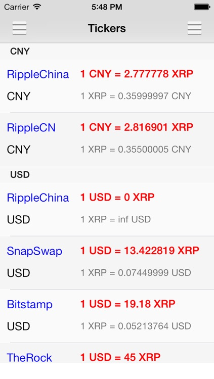 XRP Ticker screenshot-1