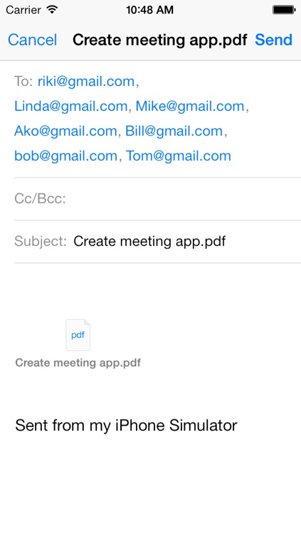 Meeting minutes maker - Create and share minutes, agendas, notes, tasks screenshot-4