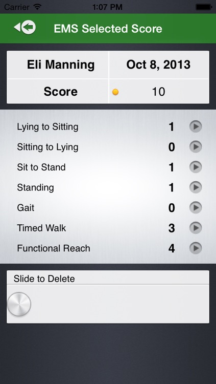 Elderly Mobility Scale screenshot-4