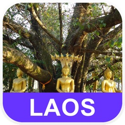 Laos Offline Map - PLACE STARS