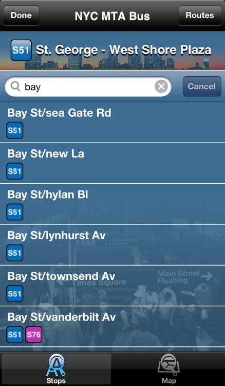 InTime NYC Bus screenshot-4