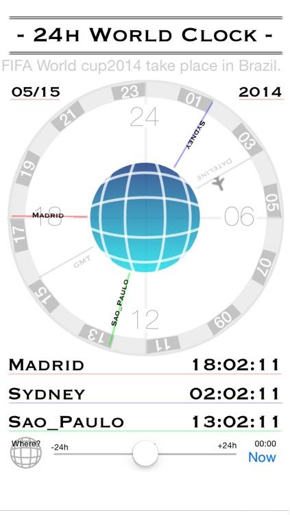24h World-Clock screenshot-3