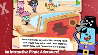 Wubbzys Pirate Treasure review screenshots
