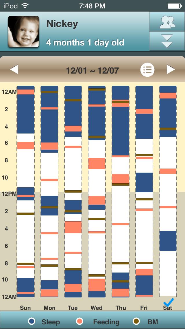 Baby Log Lite - Activities, Growth and MilestonesScreenshot of 2