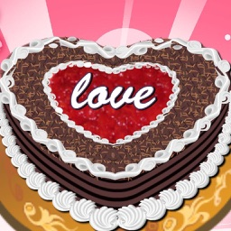 Chocolate Love Cake - The  most delicious love cake  for Girl - Food and Cook Game