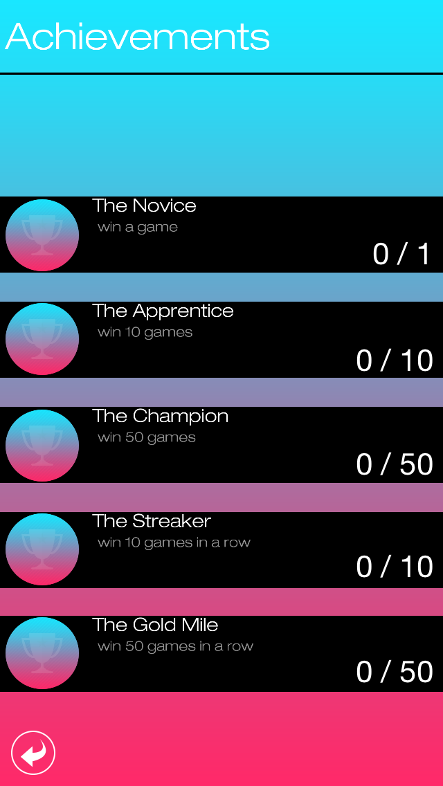X and O screenshot three