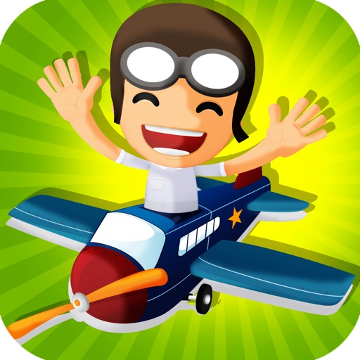 Addictive Airplane Free Flying Game icon