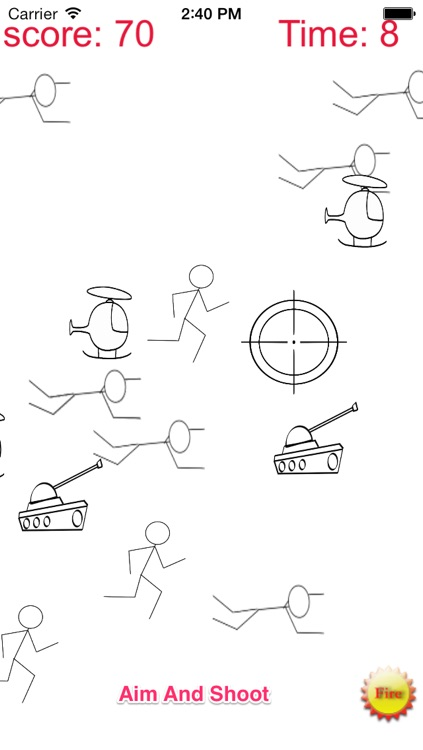 A Stickman Sniper 2: Doodle War Free
