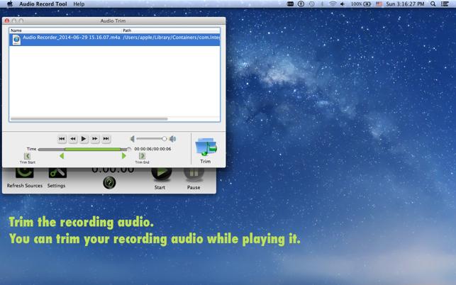 u200eaudio record tool in de mac app store