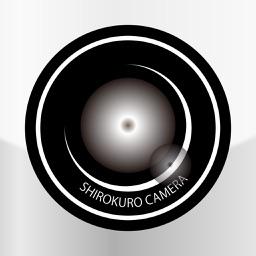 白黒写真カメラ