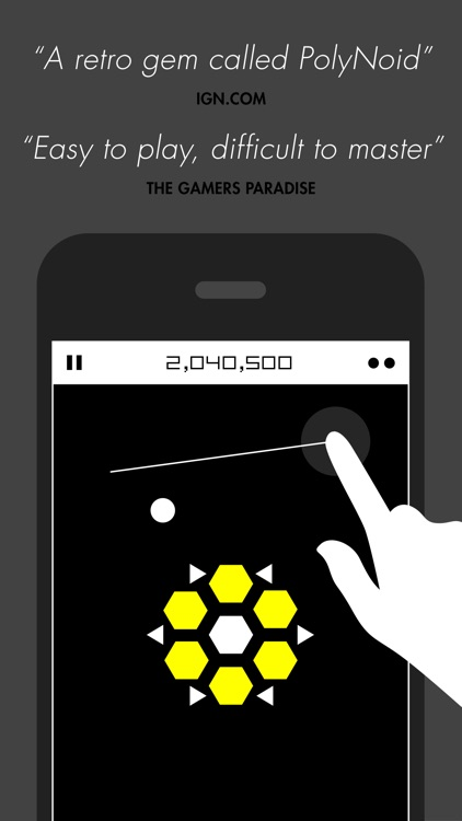 PolyNoid - Arcade action puzzle screenshot-0