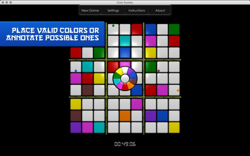 Color Sudoku Screenshot