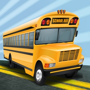 A Crazy School Bus Driver: High Speed Race Track Game