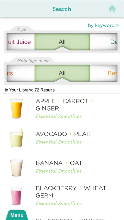 Smoothies from Whole Living for iPhone/iPod Touch screenshot-4