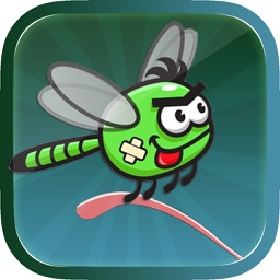 Adventure Fly Free - A Combat Of The Mortal Dragon Fly In Forest Of The Amazon