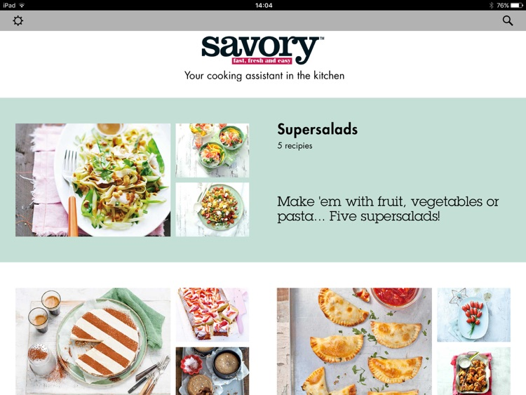 Savory Cooking by Martin's Food Markets screenshot-0