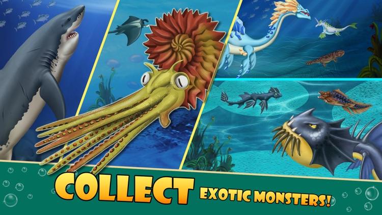 Sea Monster City - Monsters evolution & battle games screenshot-3
