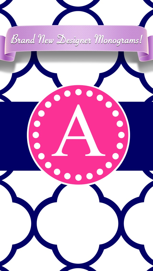 Free Monogram Printables from the pink ese are iPad and