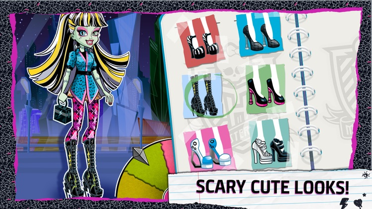 Monster High Frightful Fashion screenshot-2