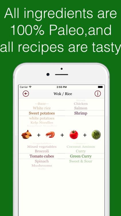 Paleo Dinner - Healthy Recipe Assistant screenshot-3
