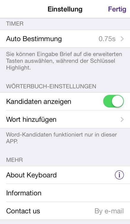 Easy Mailer German Keyboard screenshot-4