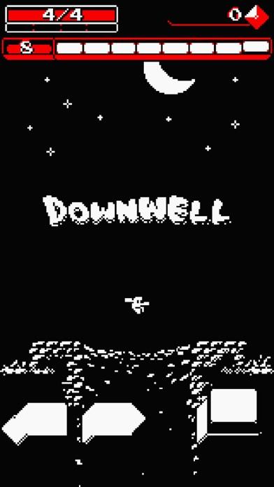 Downwell Screenshot on iOS