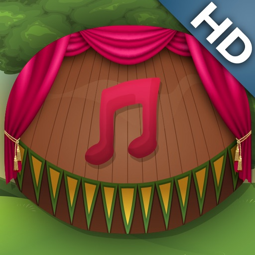 Learn Instruments Free by ABC Baby - Memorize Sounds and Names of Popular Instruments - 4 in 1 Game for Preschool Kids