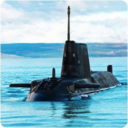 Navy War Submarine 3D