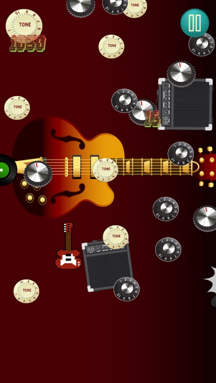 Tiny Angry Electric Guitar! Game - Guitar Tap Mania Games