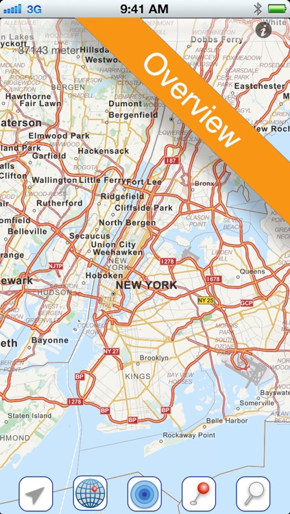New York City Offline Map