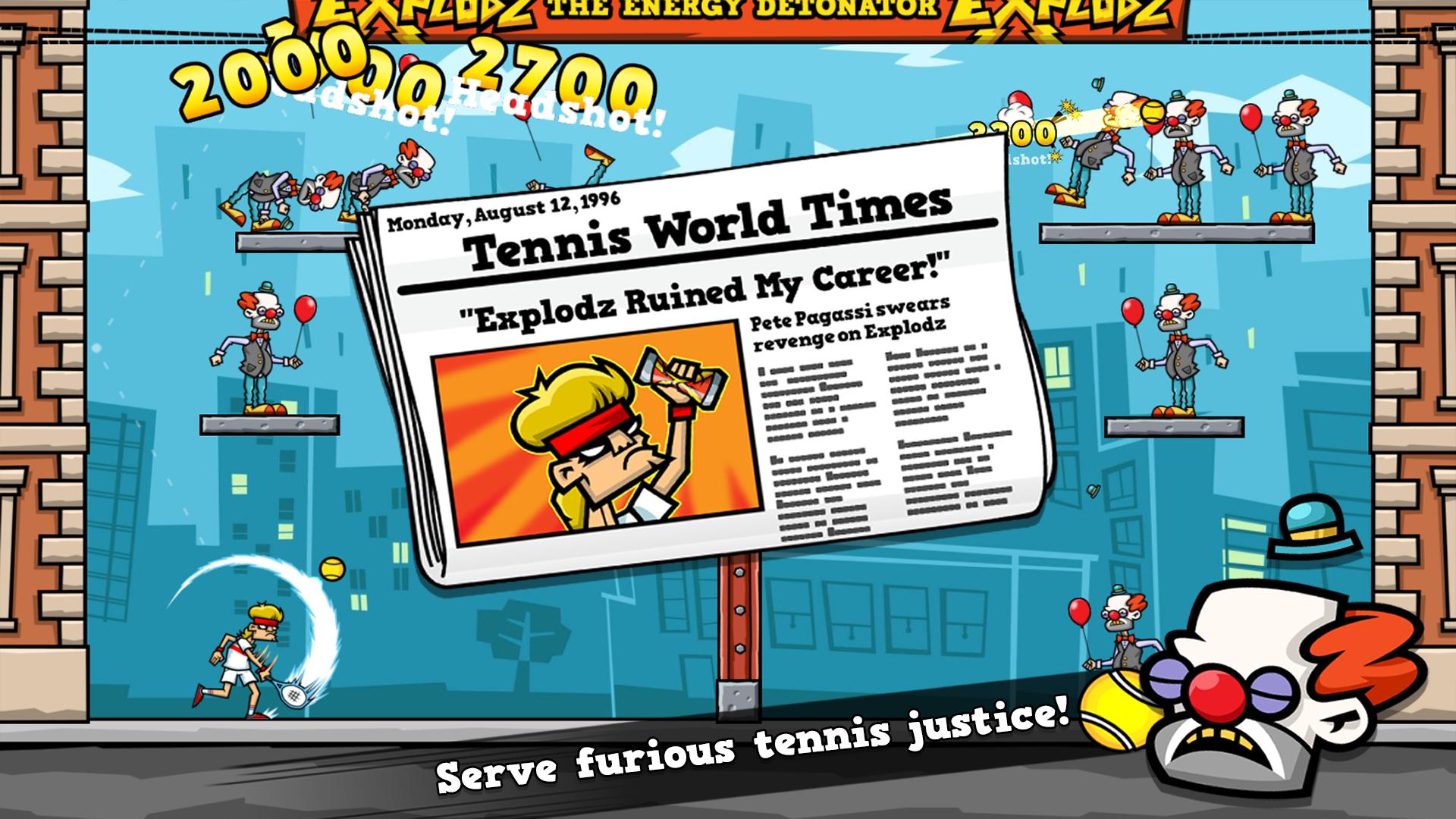 Tennis in the Face screenshot 14