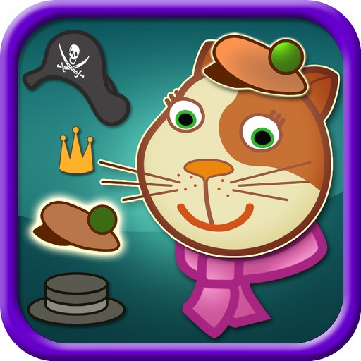 Cool Cat Dressing up Game Pro - Kids Safe App - No Adverts