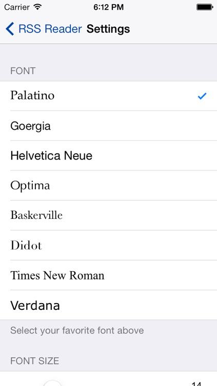Tech News RSS Reader (Free) screenshot-3
